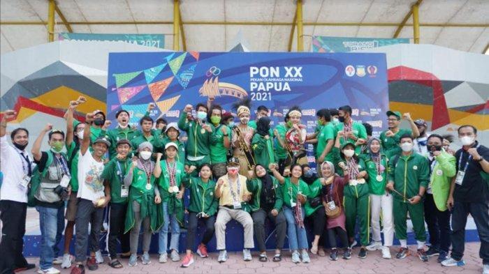 FPTI Jatim Sukses Antar Tim Jadi Juara Umum Cabor Panjat Tebing PON XX Papua 2021, Lampaui Target