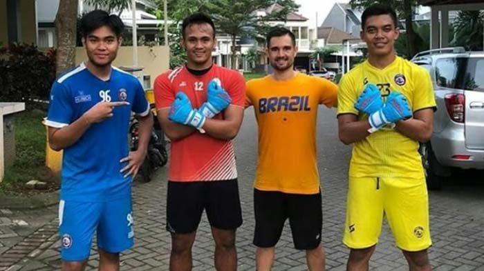Para Kiper Arema FC Berlatih Agility Bersama, Kembali Panasi Mesin Meski Belum Ada Jadwal Resmi