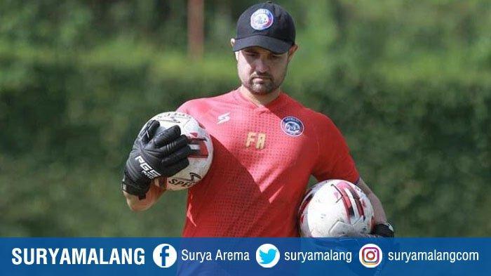Felipe Americo Latih Kiper Arema FC di Rumah, Ada Syarat Khusus Bagi yang Ingin Berlatih Bersama