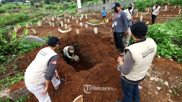 Fenomena Makam Pasien Covid-19 Salah Kubur, 700 Makam Dibongkar Karena Terbukti Negatif Virus Corona