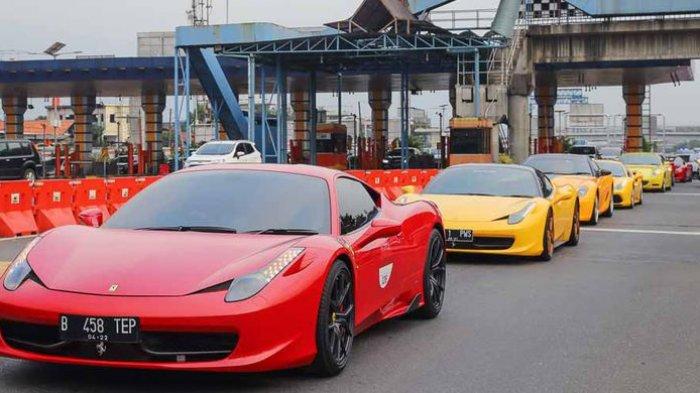 Pemilik 24 Mobil Ferrari Tunggak Pajak, Salah Satunya Petugas Keamanan