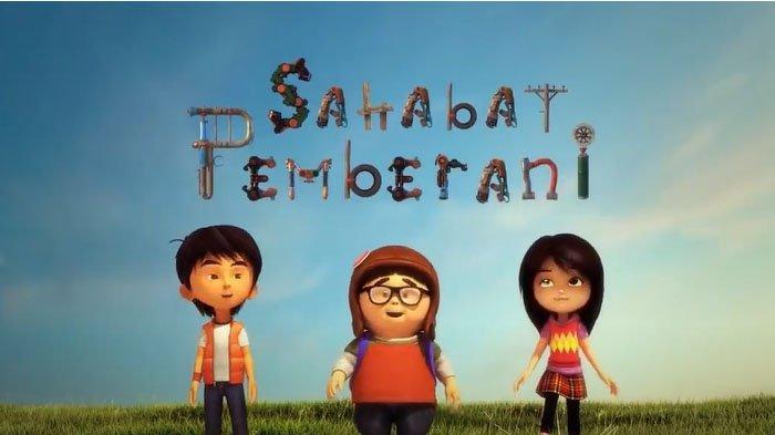 Jadwal SD kelas 4-6 TVRI Jumat 1 Mei 2020: Film Animasi Tiga Sahabat Pemberani Berikut Sinopsisnya