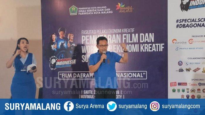 Wali Kota Malang Sutiaji Dorong Film Lokal Go Nasional, Hadiri Pemutaran Film Darah Biru Arema 2