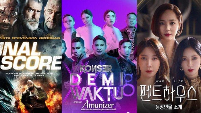 Jadwal Acara TV Hari Ini Sabtu 31 Juli 2021 di RCTI Trans TV NET TV, Konser Demi Waktu & Final Score