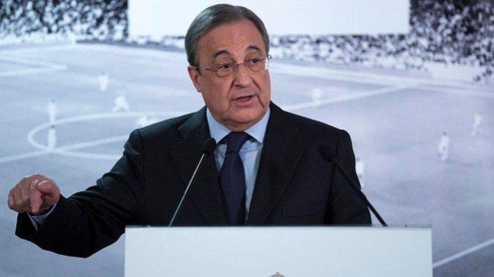 Kisruh Dualisme Sepak Bola di Eropa, Florentino Perez Ngotot European Super League Harus Digelar