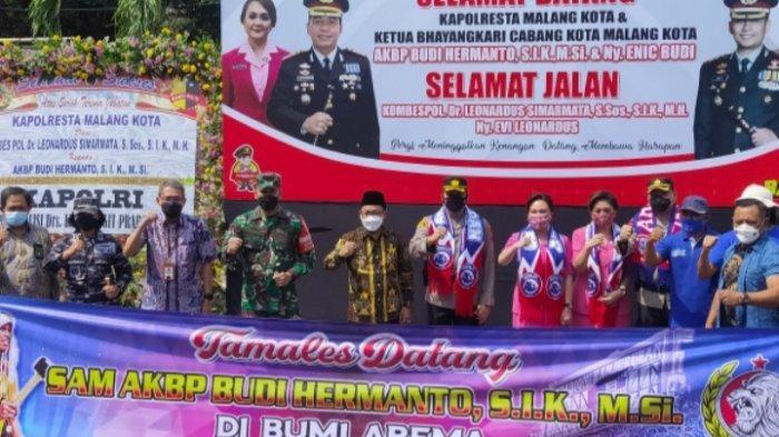Forkopimda Kota Malang Hadiri Penyambutan Kapolresta Malang, AKBP Budi Hermanto