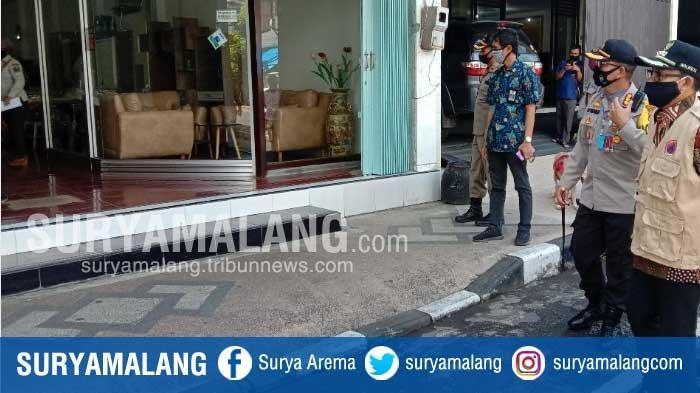 Sisir Pertokoan di Kota Malang, Forkopimda Temukan Sejumlah Toko Abai Aturan PSBB Malang Raya