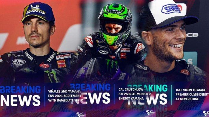 Formasi Pembalap Yamaha di MotoGP 2021 Dirombak Tengah Jalan Setelah Maverick Vinales Resmi Dilepas