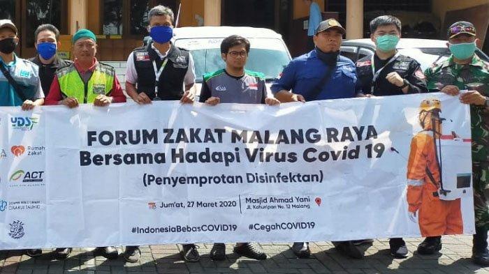 Forum Zakat (FOZ) Malang Raya Luncurkan Aksi Bersama untuk Tanggulangi Penyebaran Virus Corona