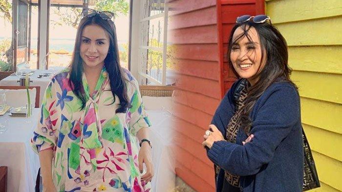 Foto-foto Ibu Mertua Momo Geisha yang Kaya Raya, Awet Muda, Bergaya Modis Sampai Kerap Dikira Kembar