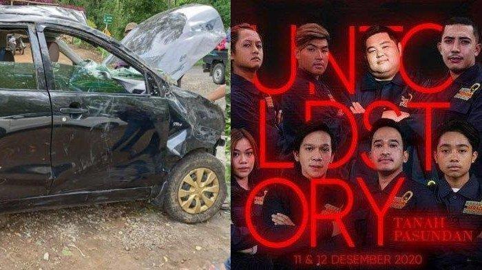 Foto-foto Mobil Rombongan Jordi Onsu yang Masuk Jurang di Malang, Polisi Duga Akibat Rem Blong