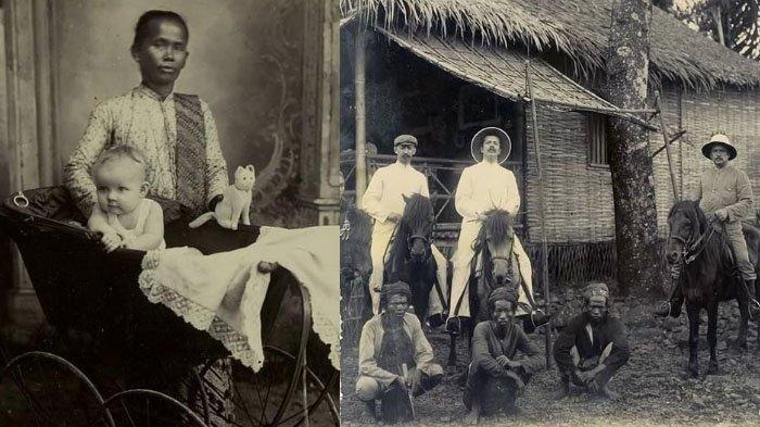 7 Foto Jadul Orang Indonesia di Zaman Penjajahan Bocor di Medsos, Miris Lihat Pekerjaan Mereka Dulu