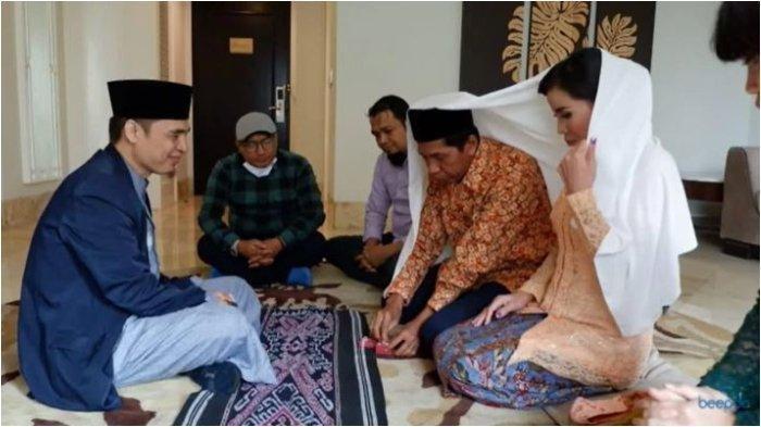 Foto Pernikahan Kiwil dan Pengusaha Asal Kalimantan