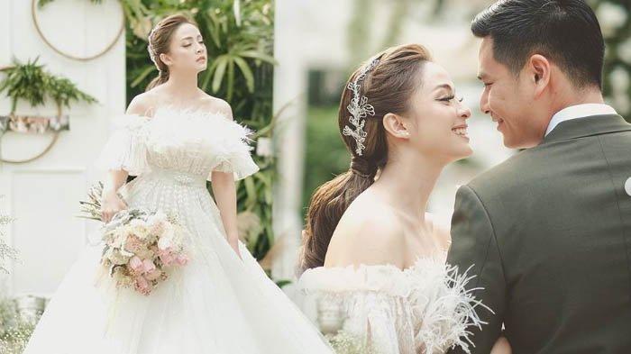Foto Pernikahan VJ Laissti, Mantan Pacar Baim Wong yang Dulu Bikin Geger Saat Suapi Ariel Noah