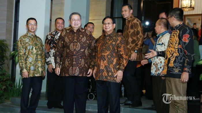 Pertemuan Prabowo & SBY Hasilkan Sejumlah Kesepakatan, Salah Satunya Soal Peluang Koalisi