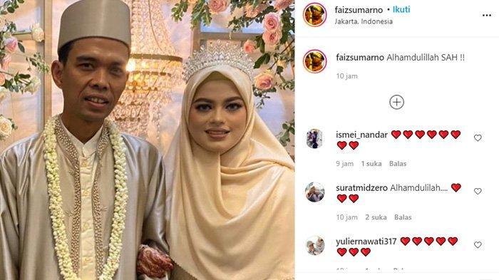 Foto Ustadz Abdul Somad hanya foto berdua dengan Fatimah Az Zahra diunggah akun faizsumarno