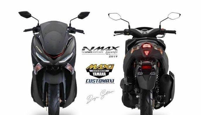 Foto Yamaha NMAX 2019 Terbaru Viral di WhatsApp (WA) & Medsos, Ternyata ini Fakta Sebenarnya