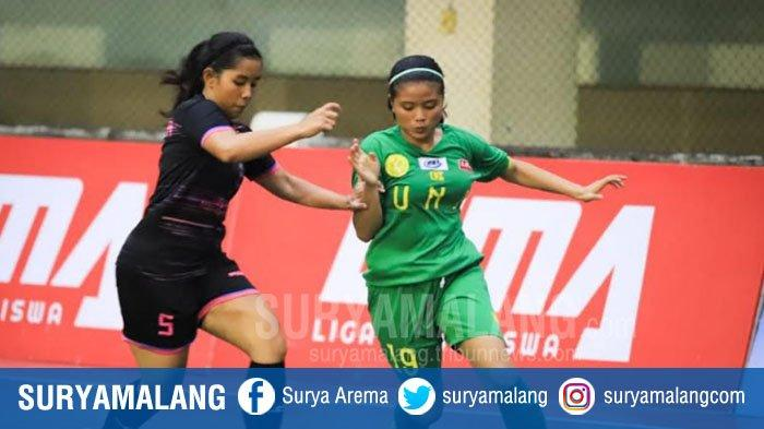 Tim Futsal Putri UNJ Ke Final LIMA Futsal Nationals Season 7 di Kampus UIN Maliki Malang