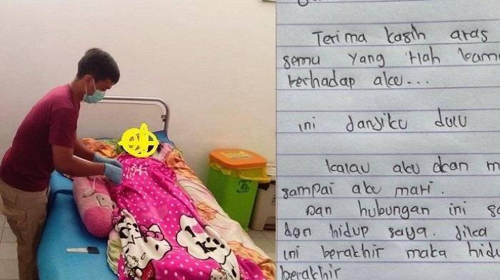 Cewek ABG Gantung Diri Gara-gara Putus Cinta, Tinggalkan Surat Untuk Mantan Pacar: Ini Janjiku Dulu