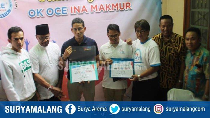 Sandiaga Uno Restui Gamal Albinsaid dan Cak Hariyanto Maju di Pilkada Surabaya