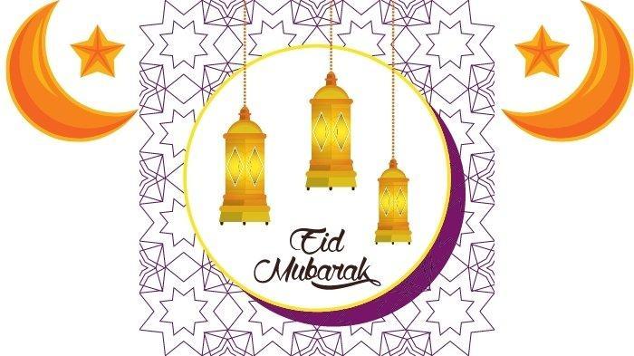 Gambar stiker WhatsApp lebaran Idul Fitri 2021 terbaru kartun kekinian