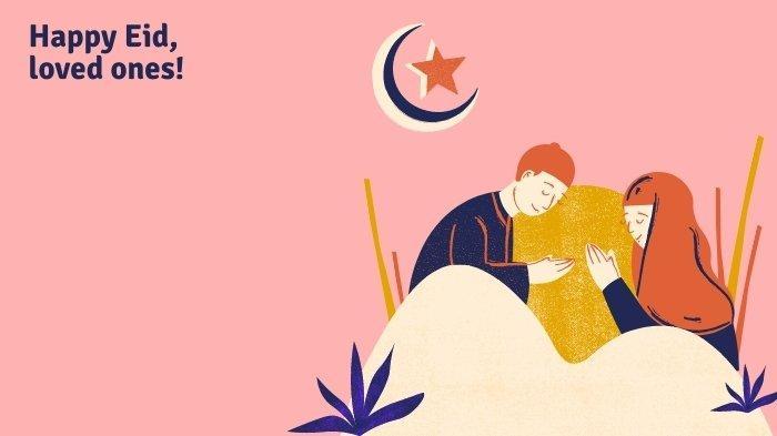 Kumpulan Gambar Selamat Hari Raya Idul Fitri, Kartu Ucapan Lebaran 2021 Lucu Untuk WA dan Medsos