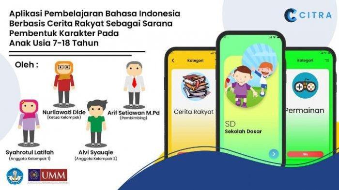 Mahasiswi UMM Bikin Aplikasi Citra, Berisi Cerita Rakyat sebagai Sarana Pembentuk Karakter