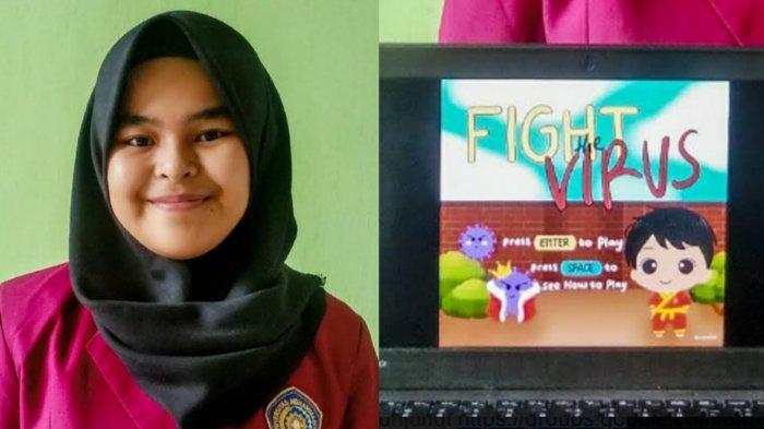 Game Edukasi Mahasiswa UMM Bernama Fight The Virus, Karakter Pendekar Tapak Suci Lawan Virus Corona