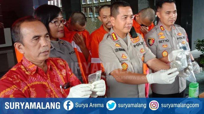 Ganja 1 Kg dengan Mudah Didatangkan Mahasiswa di Kota Malang, Polisi Telusuri Jalur Ekspedisi