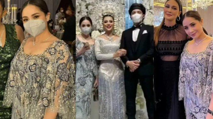 Terbongkar Gaun Nagita Slavina di Pernikahan Aurel Dirancang Khusus, Harganya Bikin Deg-degan