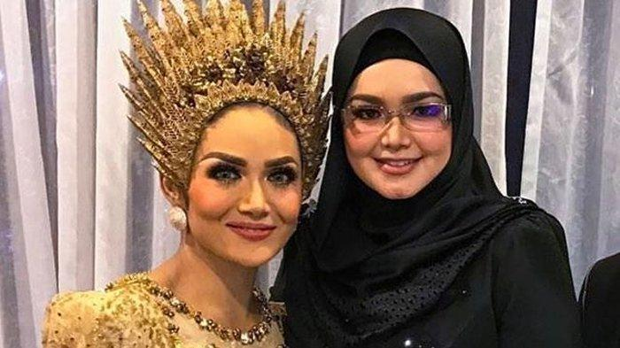 Gaya Siti Nurhaliza & Krisdayanti Rayakan Ulang Tahun Suami, Sama-sama Tajir Beda di Adegan Ciuman