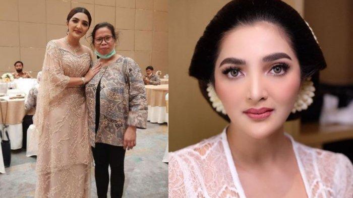 Gaya Suwarsih  ART Ashanty di Pernikahan Atta & Aurel Bikin Pangling, Tampil Cetar dengan Riasannya