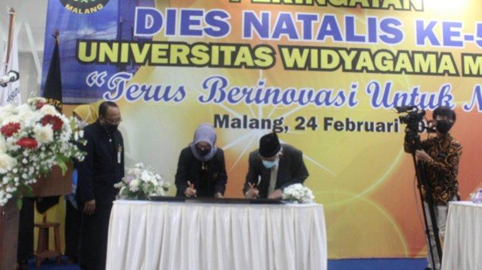 Rayakan Dies Natalis ke-50, Universitas Widyagama (UWG) Malang Resmikan Gedung dan Lab Terpadu Baru
