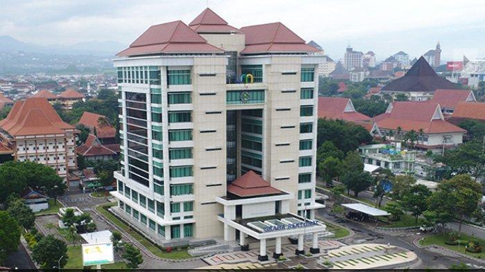Gedung Universitas Negeri Malang (UM) seleksi UTBK mahasiswa baru masuk tahap registrasi