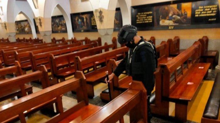 Polisi Sudah Sterilisasi 3 Gereja SebelumPuncak Peringatan Paskah di Kota Malang
