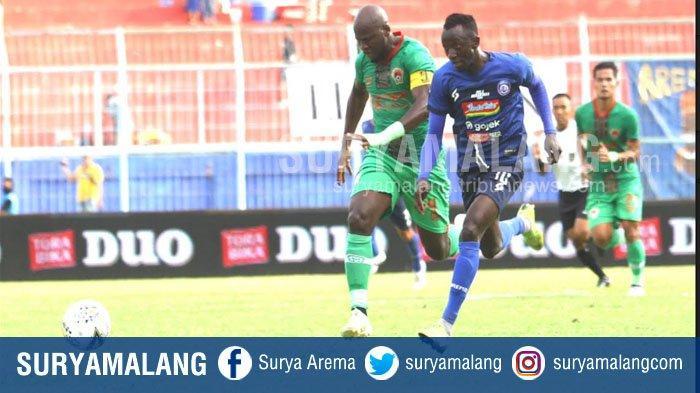 Hasil Skor Arema FC Vs Kalteng Putra di LIga 1 2019 Imbang 1-1 , Pelatih Kalteng Putra Bersyukur