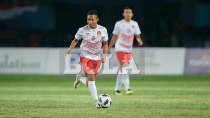 Timnas U23 Indonesia Vs Hongkong, Evan Dimas Berbagi Pengalaman dan Tebarkan Virus Positif Ini