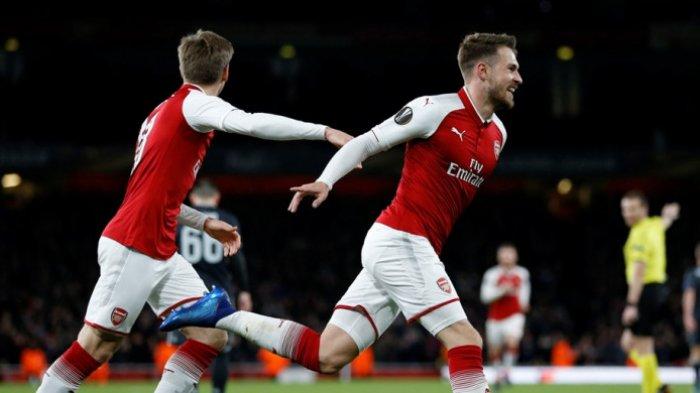 Hasil Arsenal Vs CSKA Moskva, The Gunners Melangkah ke Semifinal Liga Europa