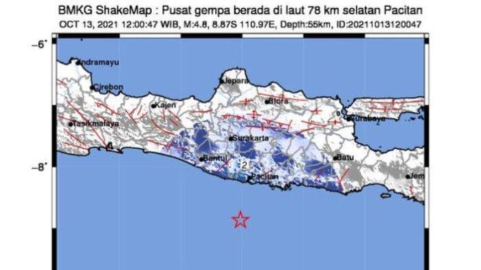 Gempa di Pacitan Terasa Hingga Yogyakarta, Warga Berhamburan Keluar Gedung