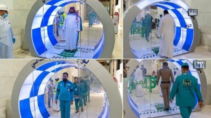 Cegah Penularan Virus Corona, Arab Saudi Pasang Gerbang Sterilisasi di Pintu Masuk Masjidil Haram