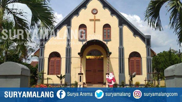 Lonceng GKJW Jemaat Peniwen di Malang Berbunyi 2019 Kali Saat Tahun Baru 2019