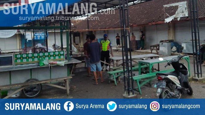 Gesang Tewas Kesetrum Saat Siapkan Lapak Jualan di Pasar Desa Jatisari, Tuban
