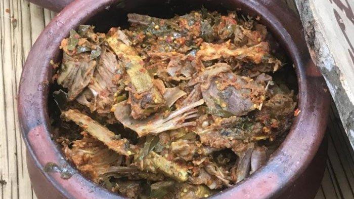 Geseng Bangsong, Kuliner Khas Desa Wijenan yang Dapat Dinikmati di Pasar Wit-witan Banyuwangi
