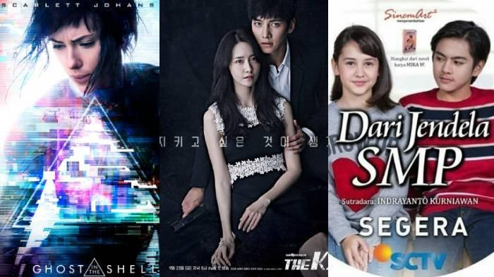 Jadwal Acara TV Hari Ini Kamis 6 Agustus Trans 7 Trans TV RCTI SCTV GTV: The K2 & Ghost In The Sheel