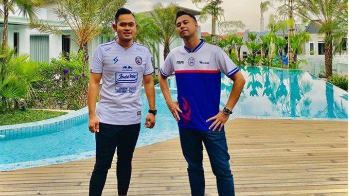 Arema FC Vs RANS Cilegon FC, Crazy Rich Malang Gilang Widya Justru Beri Bonus ke Pemain Raffi Ahmad