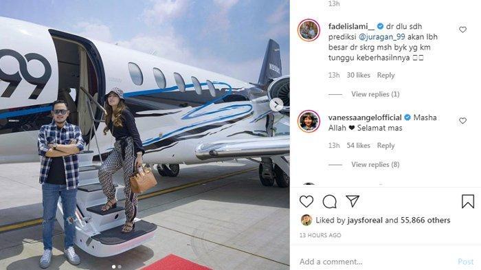 Komentar para artis untuk Gilang, Crazy Rich Malang