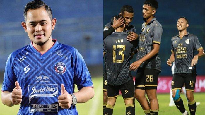 Janji Bonus Presiden Arema FC Gilang Widya Pramana Vs Persib di Ajang Piala Wali Kota Solo 2021