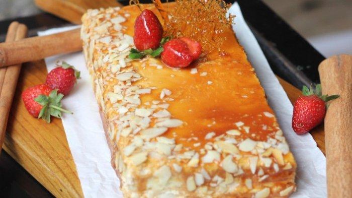Ginger Caramel Cake ala Swiss-Belinn Manyar Surabaya, Sajian Manis Pelengkap Menu Berbuka Puasa