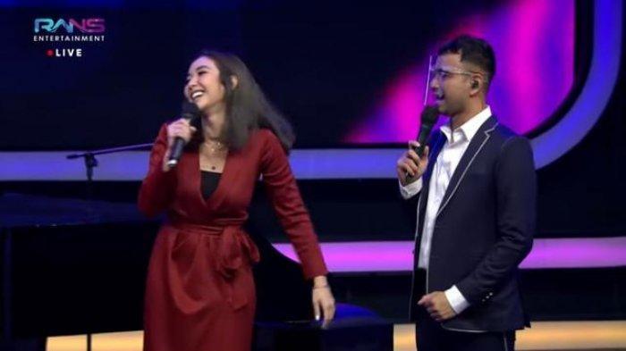 Gisella Anastasia jadi juri tamu di acara The Next Influencer ANTV setelah menjalani pemeriksaan selama 10 jam di Polda Metro Jaya, Jumat (8/1/2021).