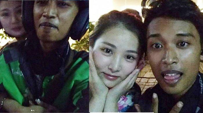 Kisah Driver Gojek Dipeluk Sepanjang Jalan Penumpang Cantik Asli Korea, Oh ini Rahasianya . . .